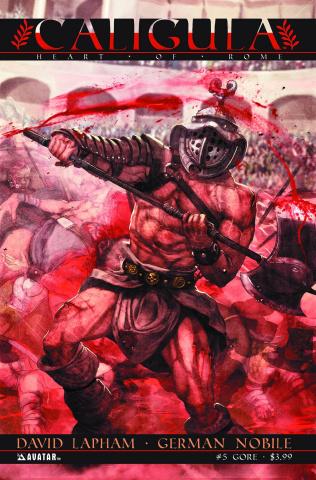 Caligula: Heart of Rome #5 (Gore Cover)
