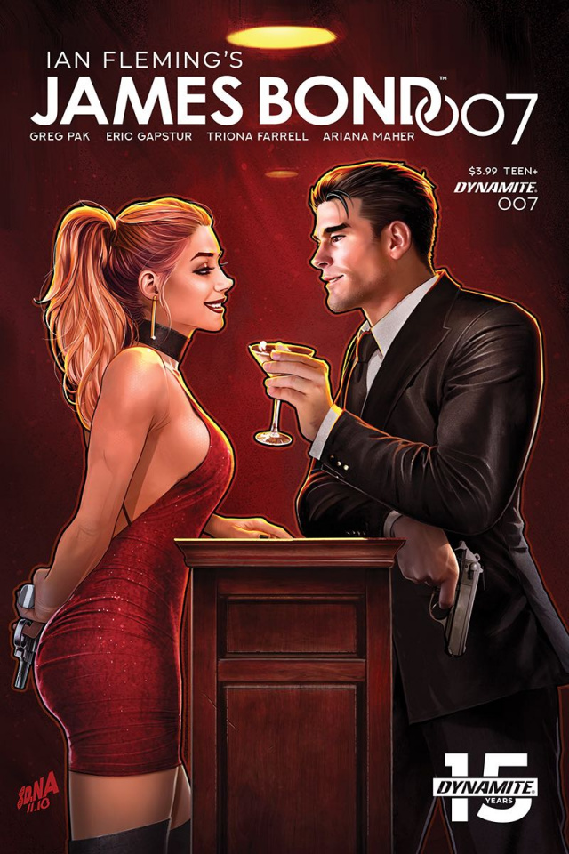 James Bond: 007 #7 (Nakayama Cover)