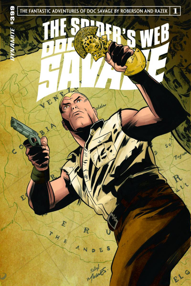 Doc Savage: The Spider's Web #1 (Torres Cover)
