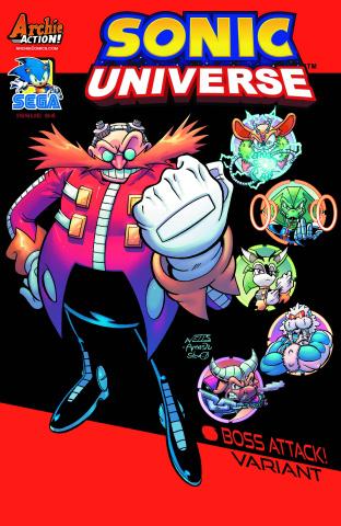 Sonic Universe #84 (Lamar Wells Cover)