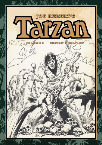 Joe Kubert's Tarzan and the Lion Man Artist's Edition