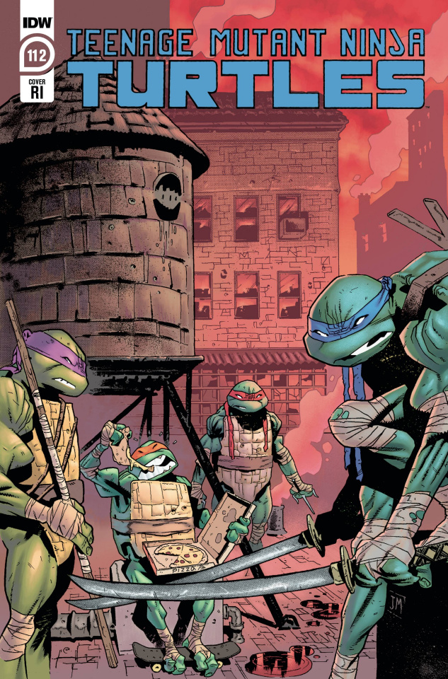 Teenage Mutant Ninja Turtles #112 (10 Copy Mason Cover)