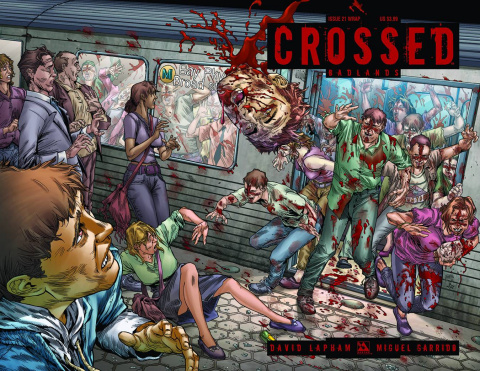 Crossed: Badlands #21 (Wrap Cover)