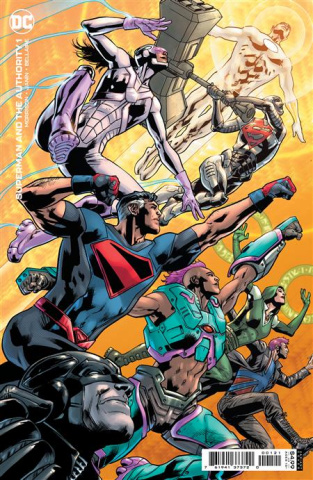 Superman and The Authority #1 (Bryan Hitch Cover)