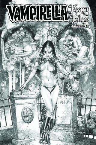 Vampirella: Feary Tales #5 (10 Copy Anacleto Cover)