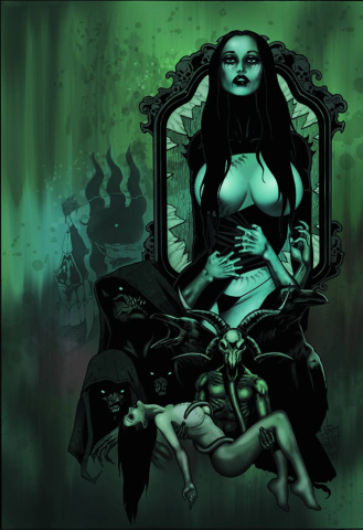 Tarot: Witch of the Black Rose #92