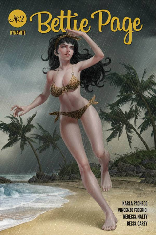 Bettie Page #2 (Yoon Cover)