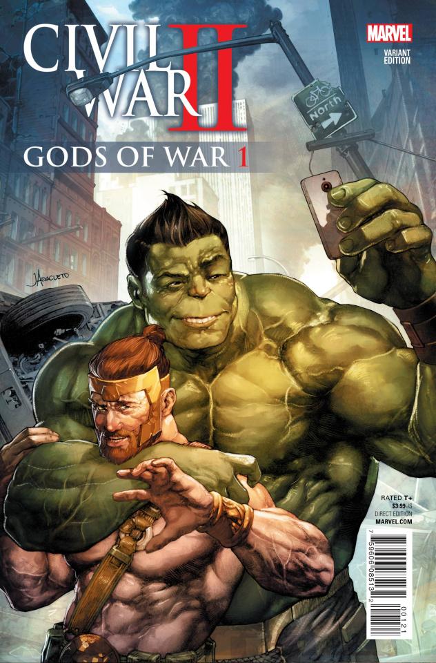 Civil War II: Gods of War #1 (Anacleto Cover)