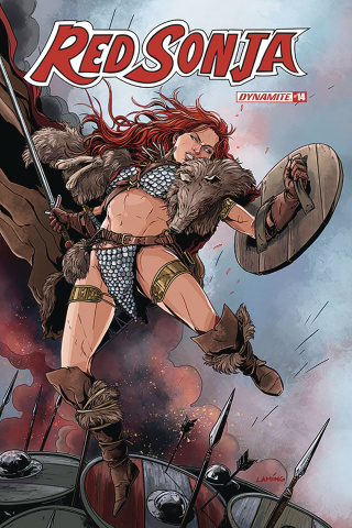 Red Sonja #14 (Laming Cover)