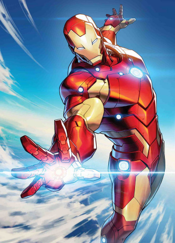 Tony Stark: Iron Man #5 (Jong-Ju Kim Marvel Battle Lines Cover)