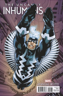 The Uncanny Inhumans Annual #1 (Land Cover)