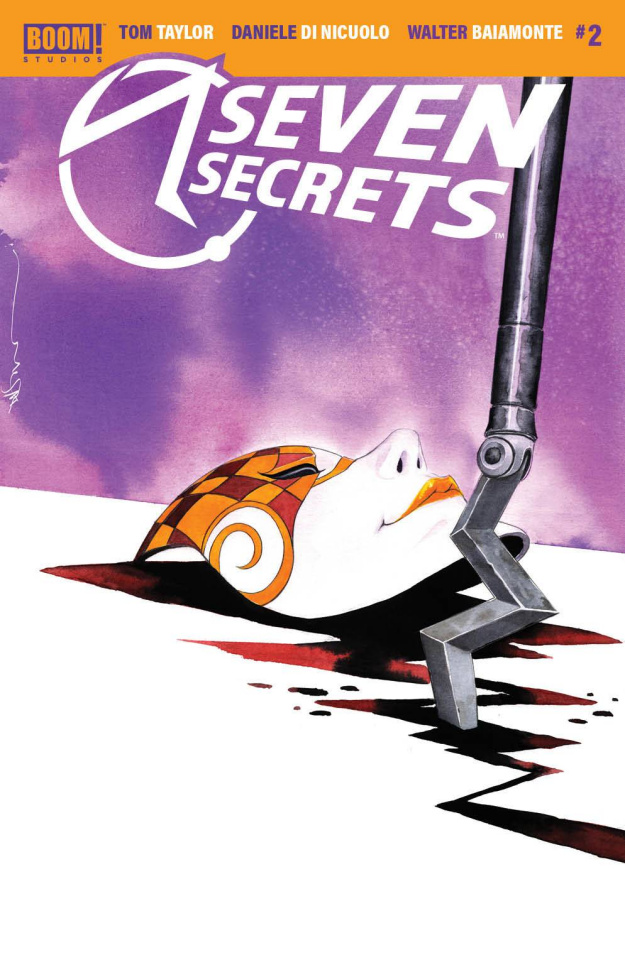 Seven Secrets #2 (Nguyen Cover)