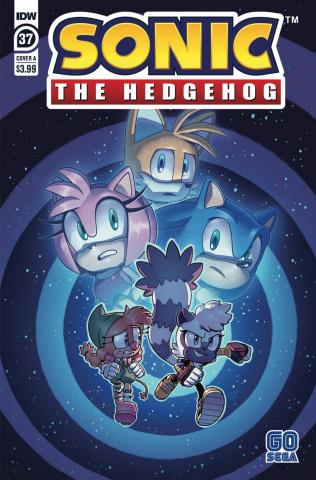 Sonic the Hedgehog #37 (Evan Stanley Cover)
