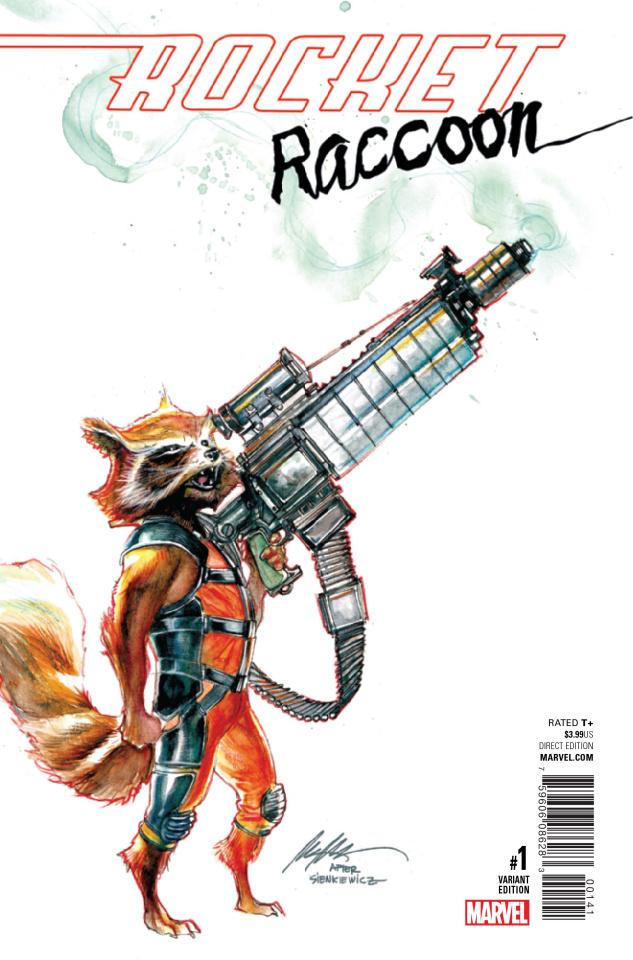 Rocket Raccoon #1 (Albuquerque Cover)