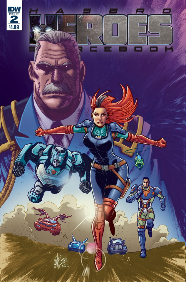 Hasbro Heroes Sourcebook #2