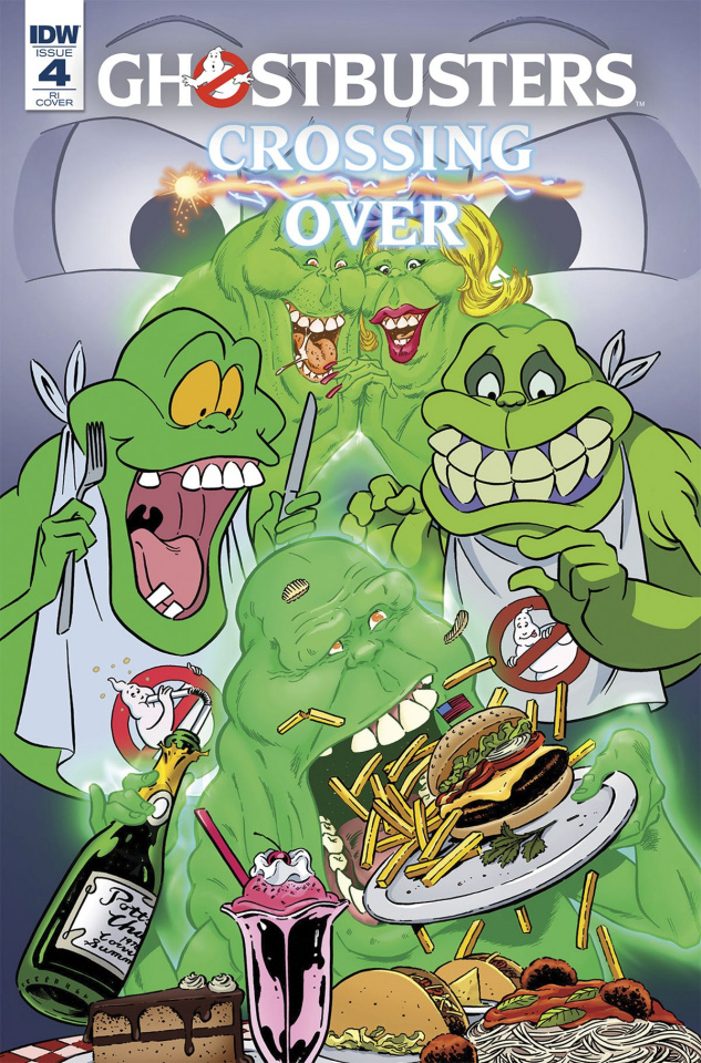 Ghostbusters: Crossing Over #4 (Schoening Cover)