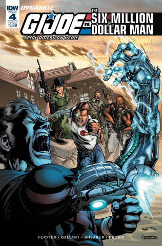 G.I. Joe vs. The Six Million Dollar Man #4 (Ferreira Cover)