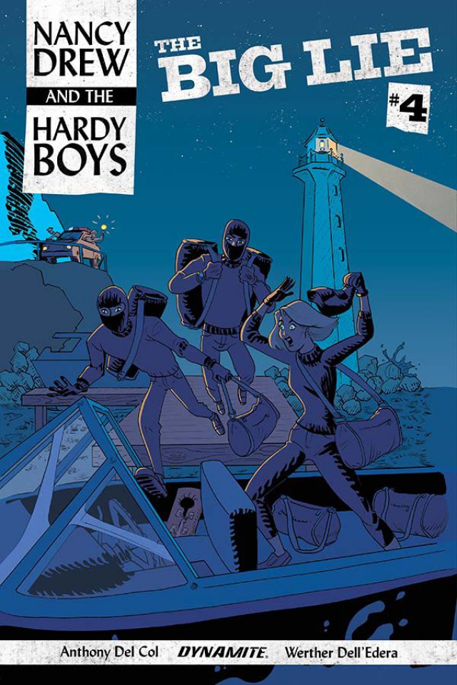 Nancy Drew and The Hardy Boys #4 (Bullock Cover)