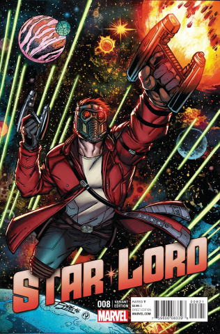 Star-Lord #8 (Lim Cover)