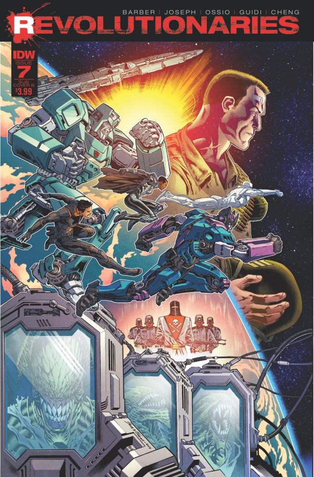 Revolutionaries #7 (Subscription Cover)