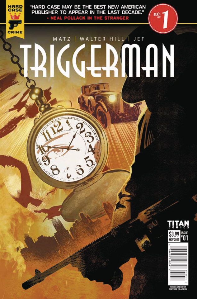 Hard Case Crime: Triggerman #1 (Calero Cover)