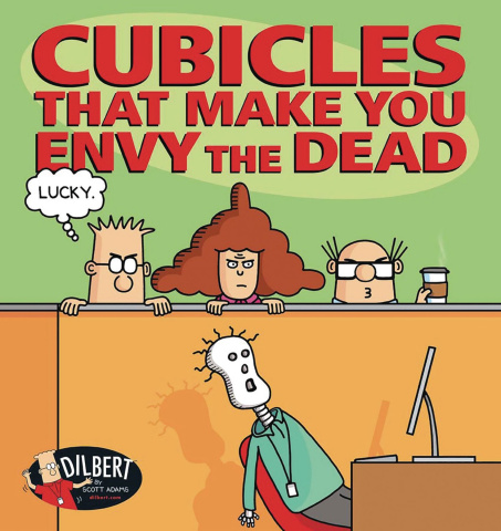 Cubicles That Make You Envy the Dead