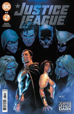 Justice League #63 (David Marquez Cover)