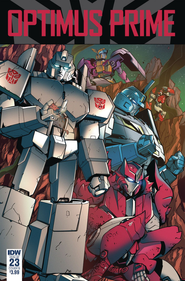 Optimus Prime #23 (Zama Cover)