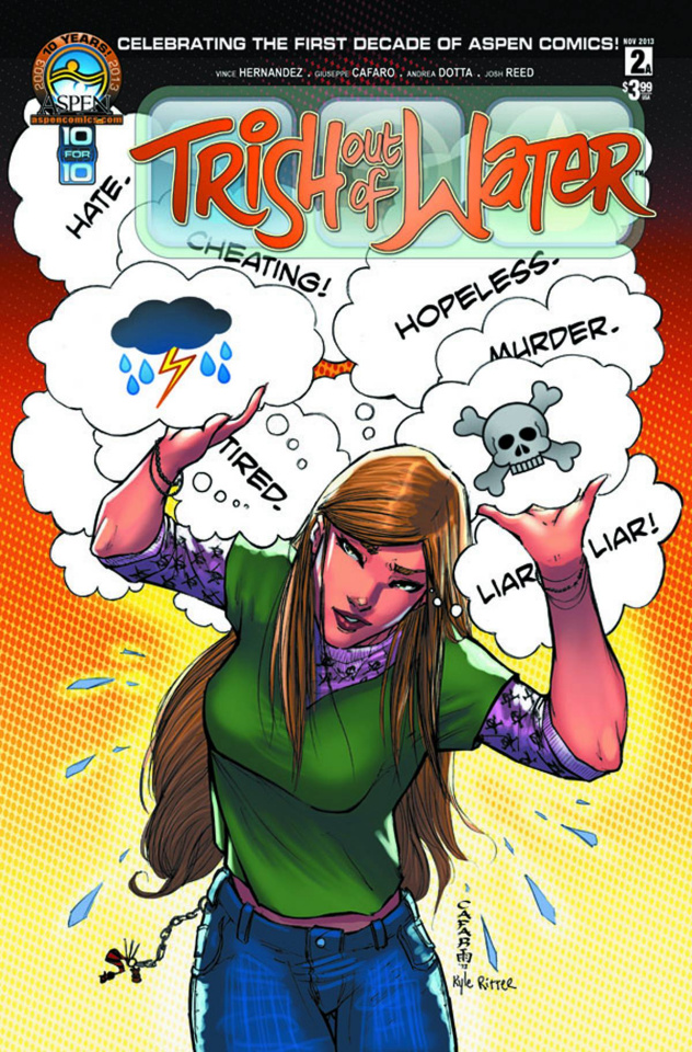 Trish Out of Water #2 (Direct Market Cover)