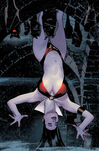 Vampiverse #1 (Hughes Virgin Cover)