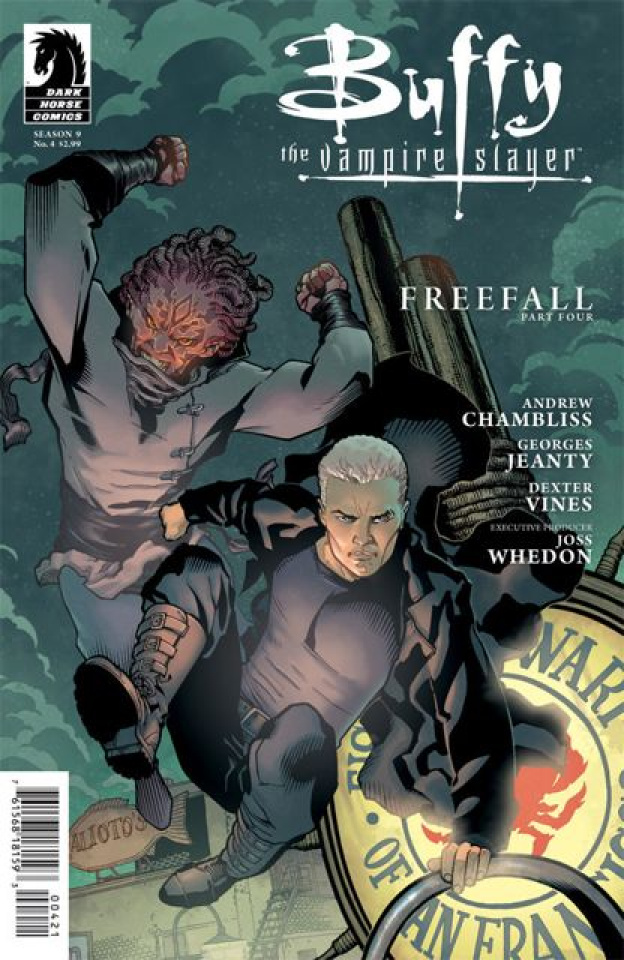 Buffy the Vampire Slayer, Season 9: Freefall #4 (Jeanty Cover)