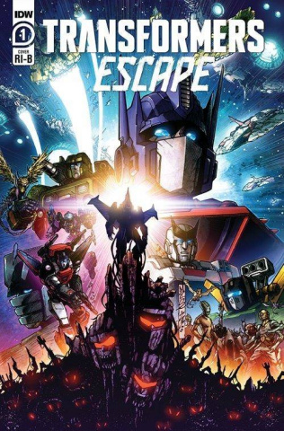 Transformers: Escape #1 (25 Copy Milne Cover)