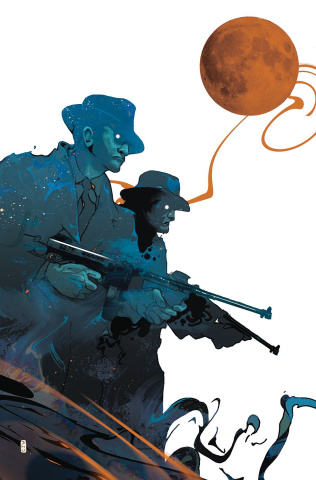 Tommy Gun Wizards #3 (Ward Cover)