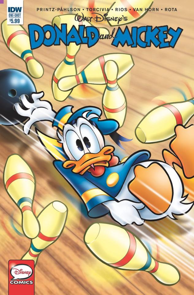 Donald and Mickey: Treasure Archipelago (Coppola Cover)