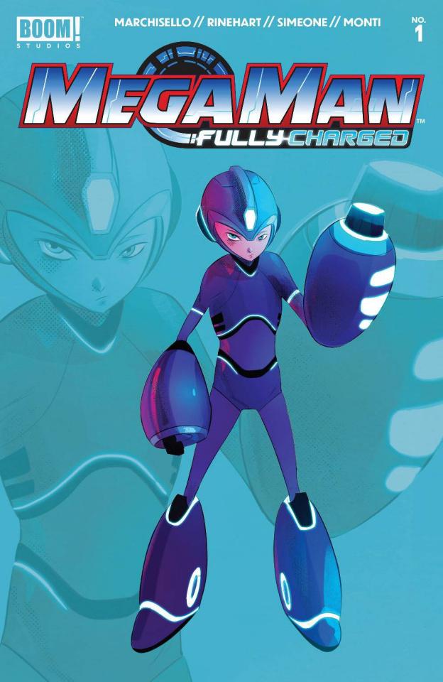 Mega Man: Fully Charged #1 (2nd Printing)