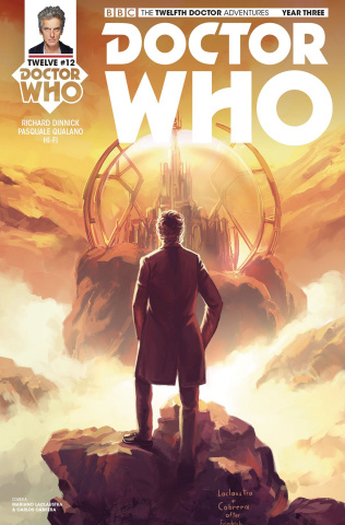 Doctor Who: The Twelfth Doctor Adventures, Year Three #12 (Laclaustra Cover)
