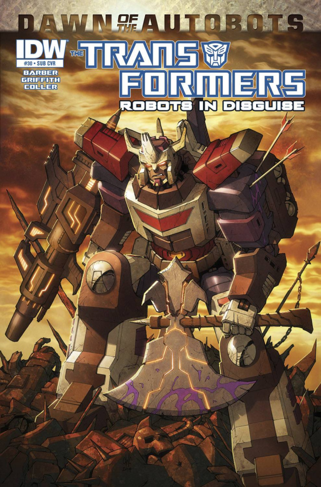 The Transformers: Robots in Disguise #30 (Subscription Cover)