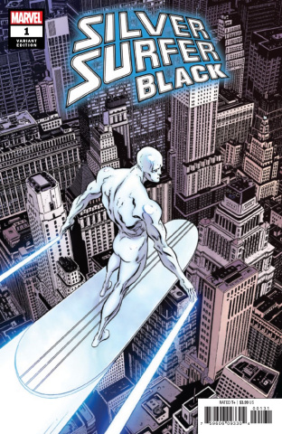 Silver Surfer: Black #1 (Zeck Hidden Gem Cover)