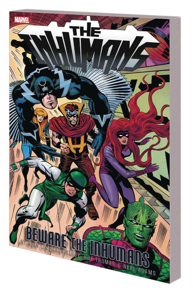 The Inhumans: Beware the Inhumans