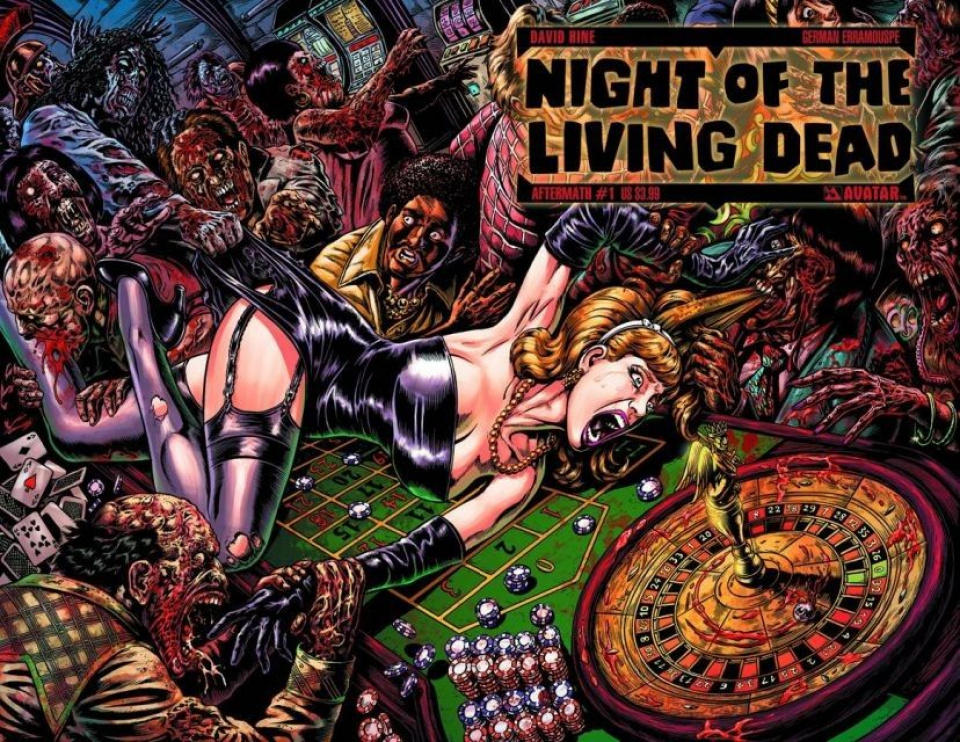Night of the Living Dead: Aftermath #1 (Wrap Cover)