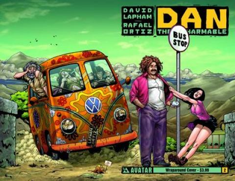 Dan the Unharmable #2 (Wrap Cover)