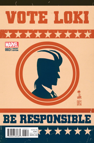 Vote Loki #3 (Francavilla Cover)