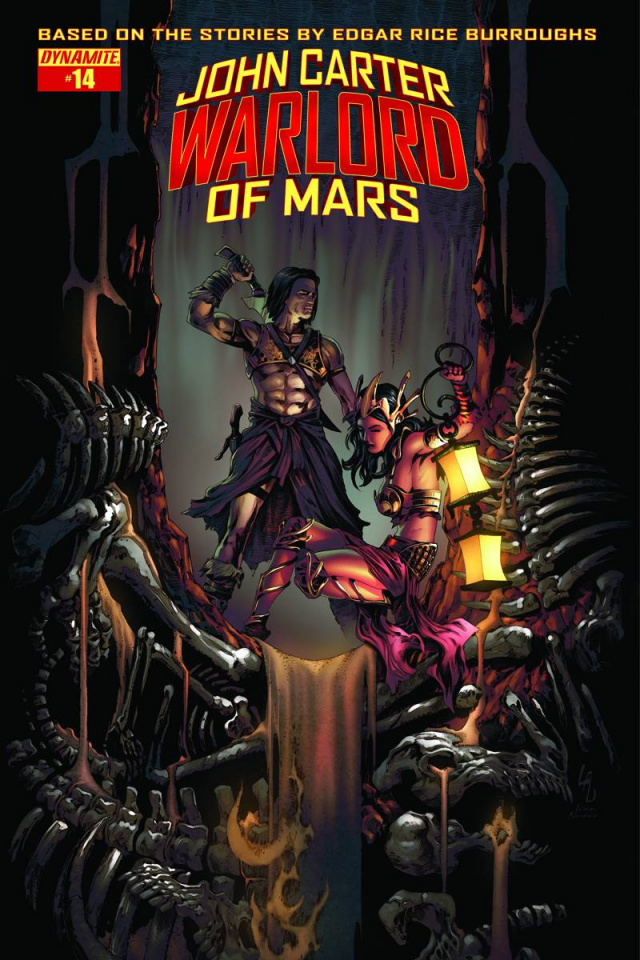 John Carter: Warlord of Mars #14 (Subscription Cover)