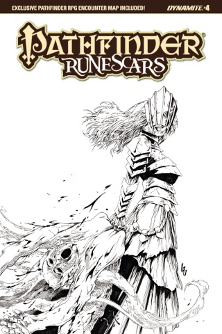 Pathfinder: Runescars #4 (10 Copy Lau B&W Cover)