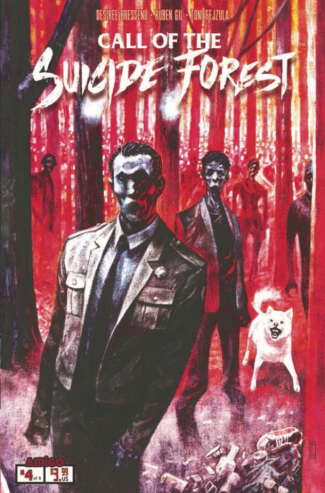Call of the Suicide Forest #4 (Pasqual Ferry Retailer Cover)