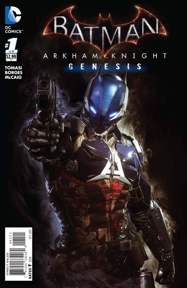 Batman: Arkham Knight - Genesis #1 (Variant Cover)