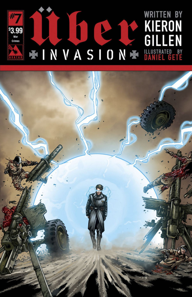 Über: Invasion #7 (War Crimes Cover)