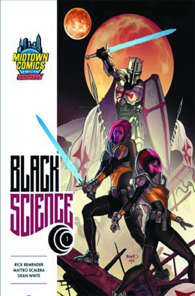 Black Science #1 (Dynamic Midtown Cover)