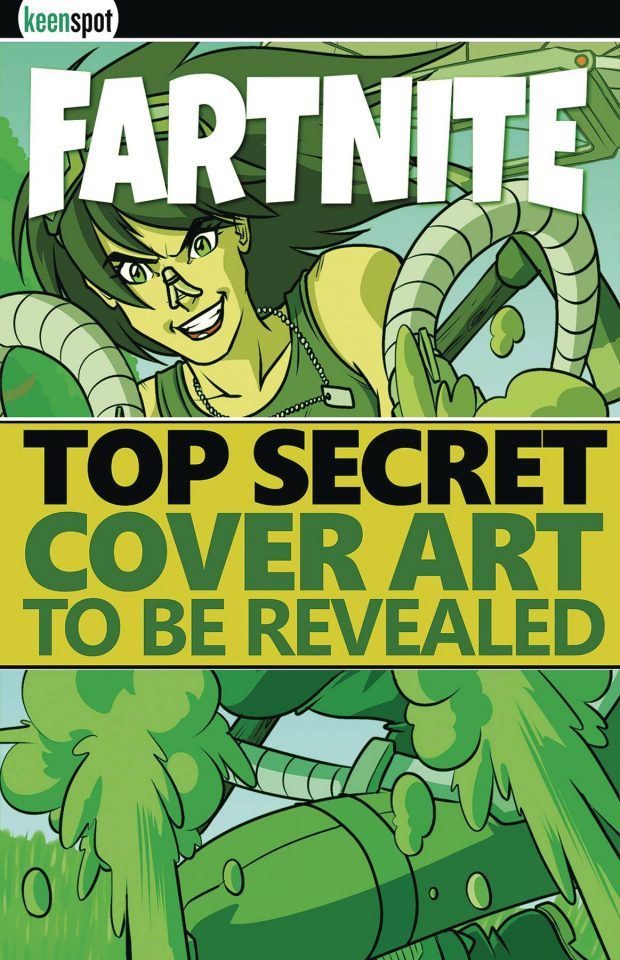 Fartnite: Chapter Poo #1 (5 Copy Parody Cover)