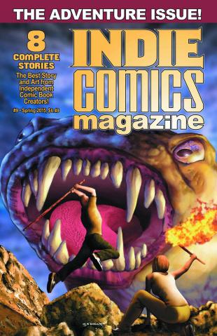 Indie Comics Magazine #9